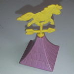 My Little Pony 1983 Show Stable Spare Turret roof part weather vain